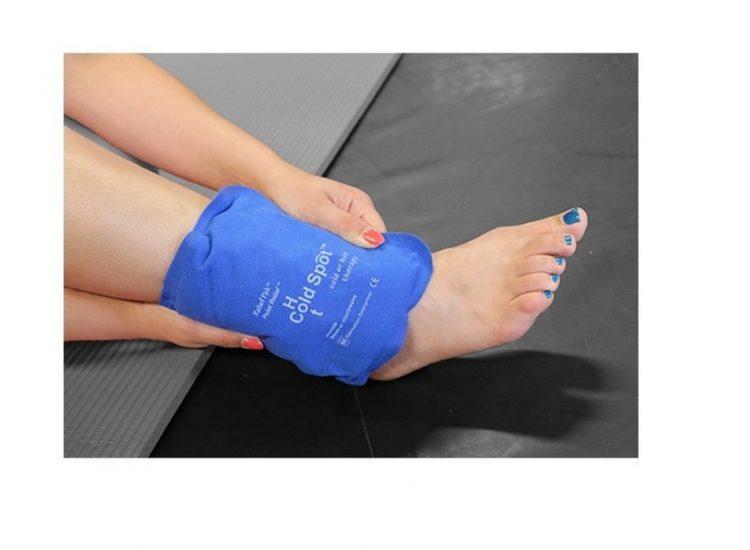 כרית חימום / קירור Medium על הרגל